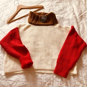NWT Forever 21 Turtleneck Knit Sweater